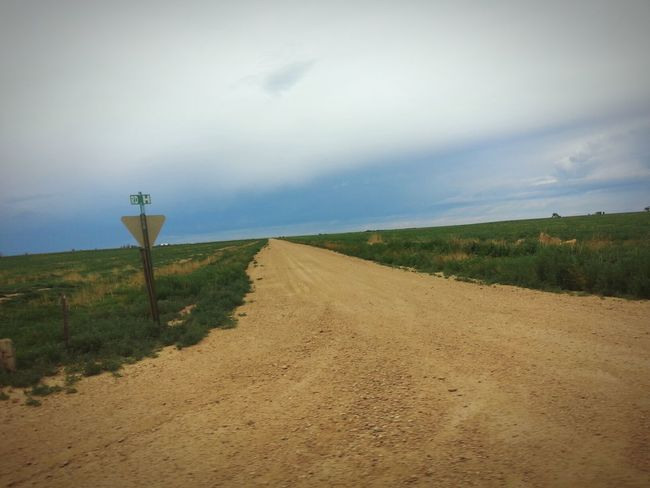 My Commute Dirt Road Travel Aneye4theshot Colorado Country Intersection
