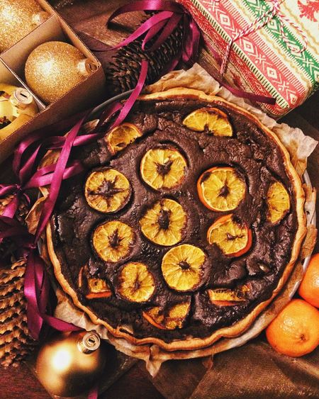 Clementine Citrus Fruit Cheese Cake Food Food And Drink Indoors  Star Anise Preparation  Directly Above Food Stories Table No People Close-up Christmas Freshness Sweet Food Ready-to-eat