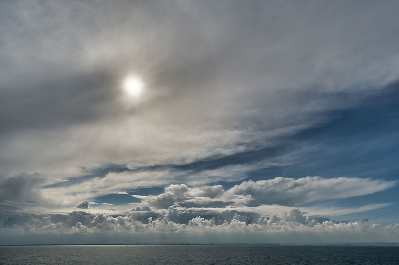 Walimex 12mm Beauty In Nature Cloud - Sky Day Horizon Over Water Idyllic Nature No People Outdoors Scenics Sea Sky Tranquil Scene Tranquility Water
