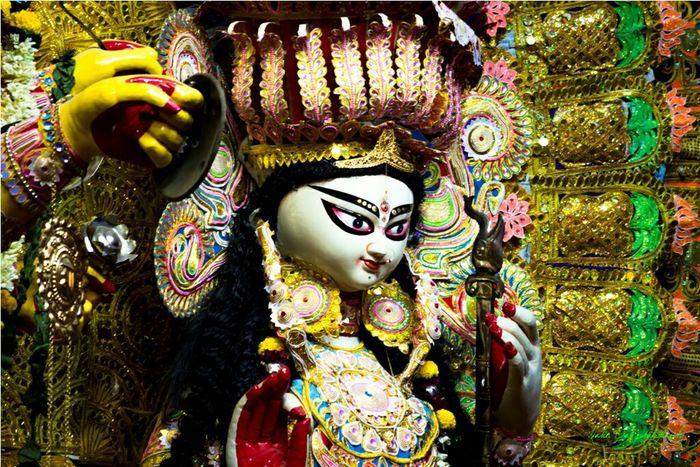 Festive Season Durgapuja Calcuttastreets Calcutta Joyfull Cultural Festival