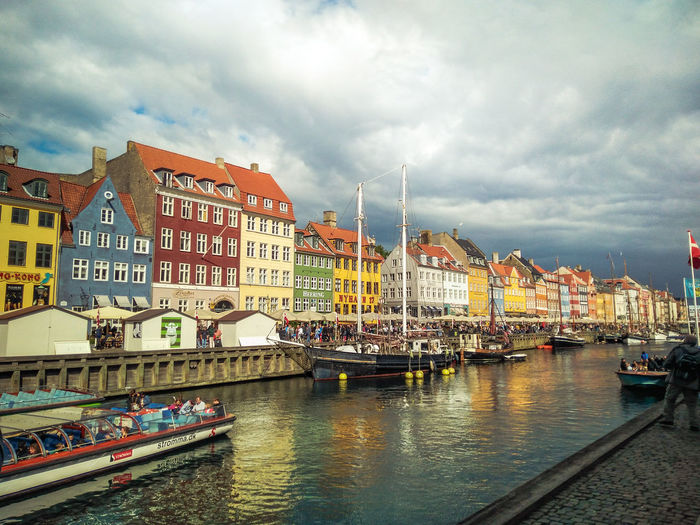Colors Houses Storm Your Ticket To Europe Architecture Building Exterior City Day Harbor Outdoors Sky Water