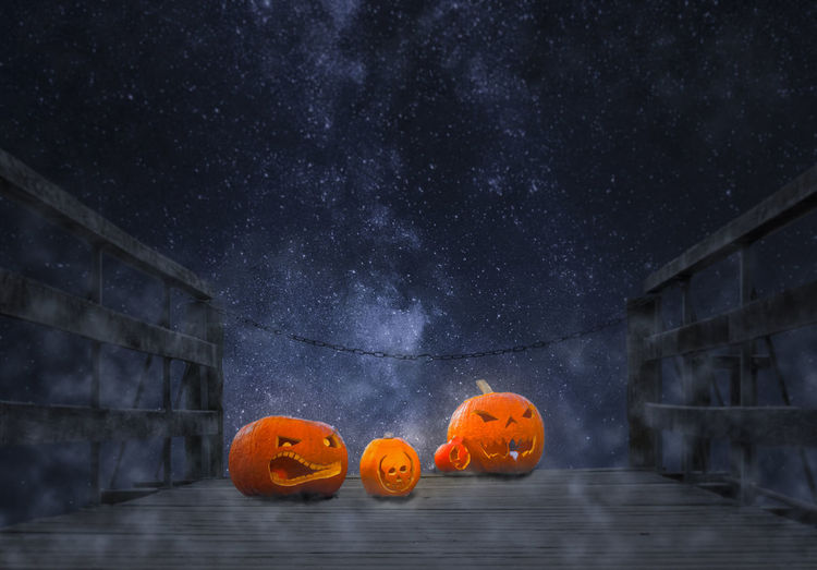 Halloween Pumpkin Stars Web Constellations Creativity Dress Halloween Jack O Lantern Pier, Jetty, Quay, Wharf, Dock, Levee, Landing, Landing Stage Pier, Scary, S Pumpkin Patch, Tranquil Scene Trick Or Treets, , Yellow