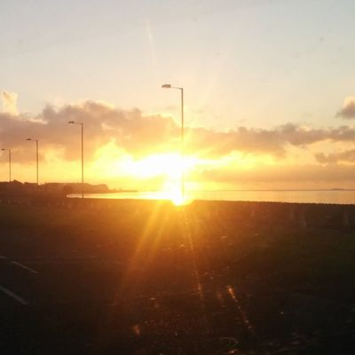 Sunrise Carrick Carrickfergus Ireland