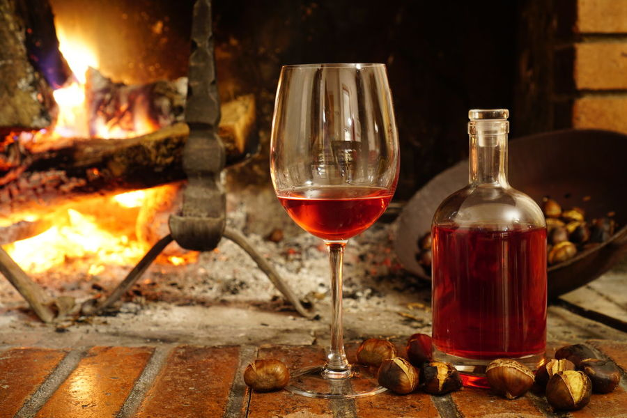 Abruzzo Alcohol Chestnuts Close-up Freshness Indoors  No People Perano Red Red Wine Wine Wineglass Winetasting