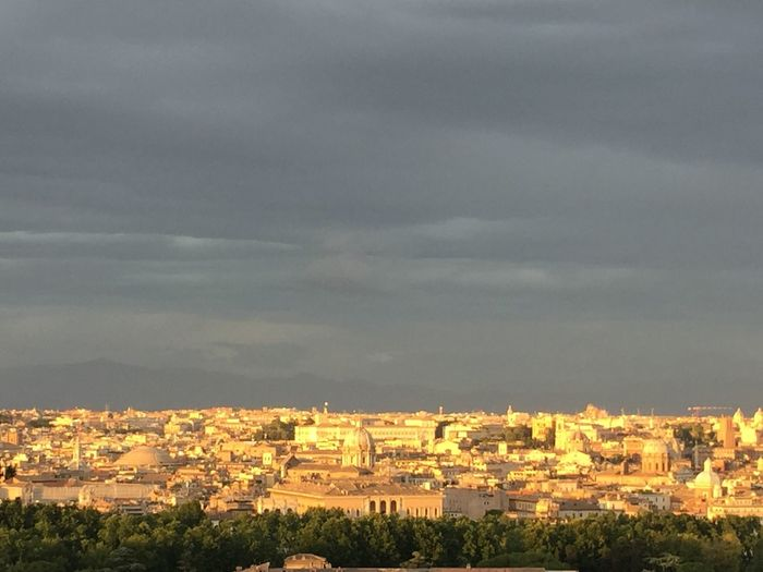 Rome View From Above Sunset Grandebellezza