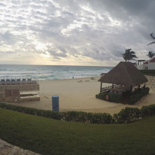We miss Mexico Wanderlust Hanging Out Vacation Cancun Caribbean Caribbean Sea Sunset Vacations Mexico Resorts GR Caribe Solaris Deluxe