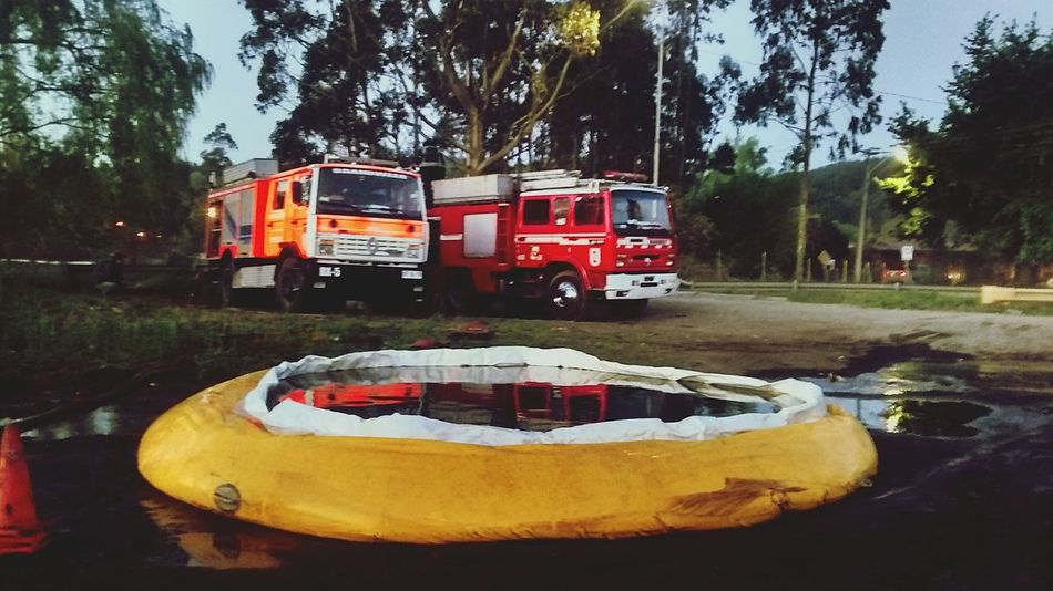 Firefighters Bomberos Chile First Eyeem Photo