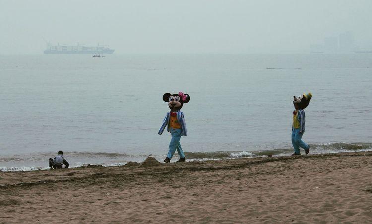 Beach Mickey Mouse