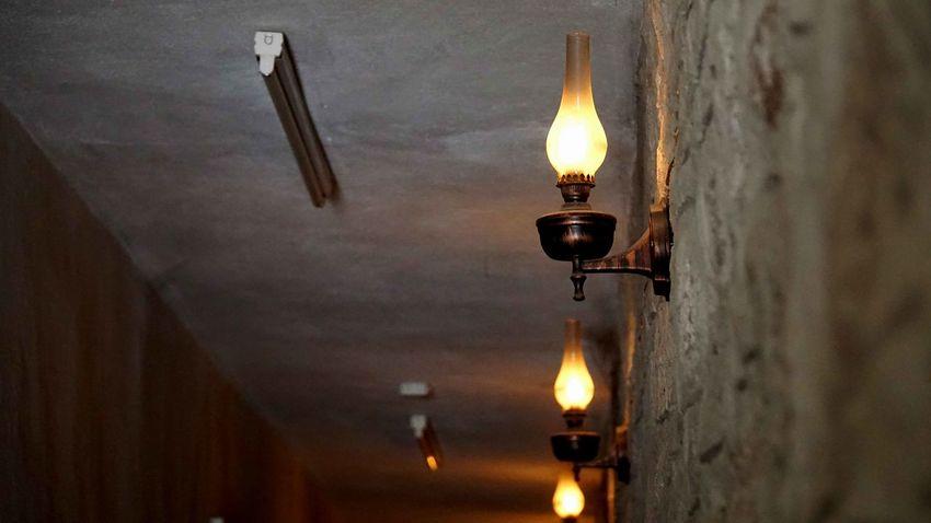 Gaz Lambası | Oil Lamp Ankara Flame Illuminated Lamba Lamp Lighting Equipment Oil Lamps UlucanlarCezaevi Wall - Building Feature ışık