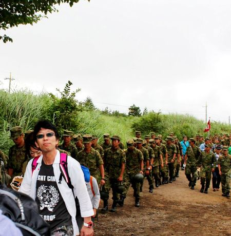 marching JGSDF Jsdf That's Me Marching