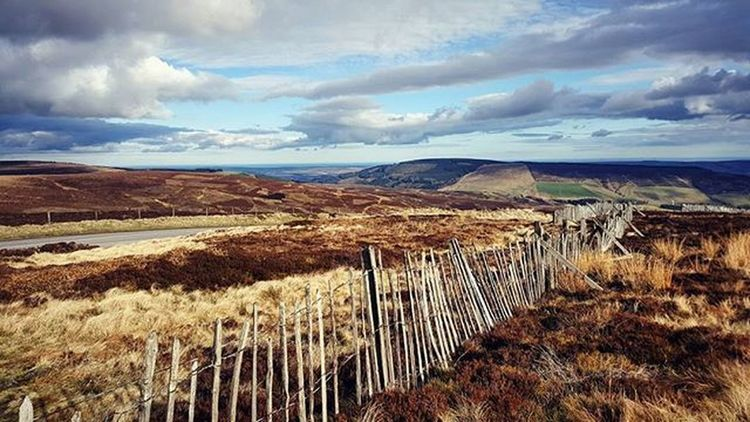 Raw Beauty - Mixed stormy skies on the drive home. Fresh cold breeze certainly woke me up! Haha. Sunset Cold Spring Peak Mountain Clouds Rustic Fence Beautiful Glow Sky Cairnomount Aberdeenshire Banchory Landscape POTD Photooftheday Visitaberdeenshire Visitabdn VisitScotland
