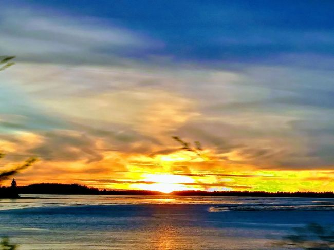 Sunset_collection Sunsets Washington State Pacific Northwest  Columbia River Ilwaco Wa Ilwaco Harbor Love Photography Dramtic Clouds Awesome_nature_shots Awesome_view Horizon Over Water Dusk Colours Love To Take Photos ❤ Picoftheday Orange Clouds And Sky Reflections