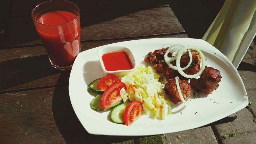 My World Of Food . Shashlik. шашлык. рига.