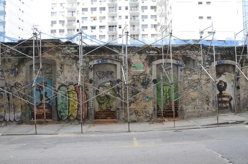 Alexandre Macieira Architecture Art Building Built Structure Centro City Creativity Day Downtown Graffiti Multi Colored No People Outdoors Prédio  Rio Rio De Janeiro Rua Street Art