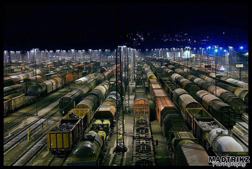 Hagen Trainyard Taking Photos Enjoying Life