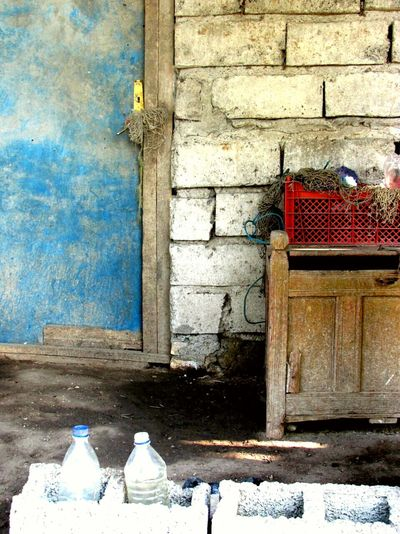 Blue Blue💙 Red Colors Colorful Color Photography Village Village Life Travel Photography Traveling Village View Villagelife Village Photography Iran Iran♥ Door Doors Bottle ایران روستا زندگی Injoying Life Injoy Life