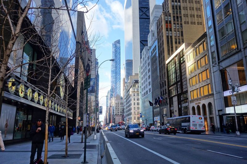 Building Exterior Architecture City Built Structure Street Travel Destinations City Street Walking Outdoors Road City Life Day Skyscraper Sky People