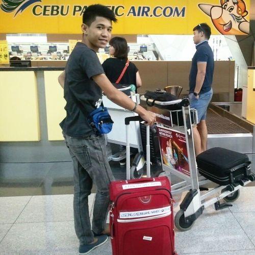 Goodbye Philippines for a while! :) BakaFeeler NAIA3