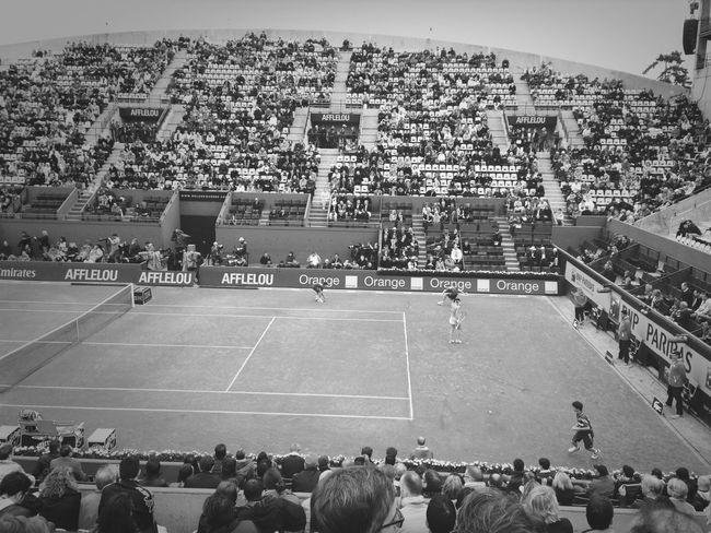 Hanging Out Blackandwhite Taking Photos ROLAND GARROS