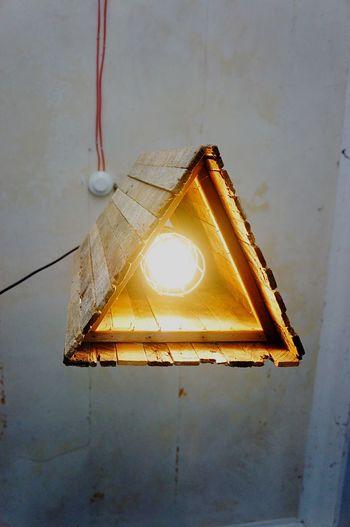 Lamp Light Woodlamp Indoors  Electricity  Light Bulb No People Wooddesign Design