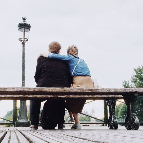 EyeEm Selects Two People Togetherness Rear View Senior Adult Love Bonding Friendship Love Bench AMPt_community Casual Clothing Full Length Real People Leisure Activity Streetphotography Adult Day Outdoors Lifestyles EyeEm Gallery IMography Mobilephotography IPhoneography Shootermag Connected By Travel Be. Ready. An Eye For Travel Visual Creativity The Street Photographer - 2018 EyeEm Awards This Is Strength