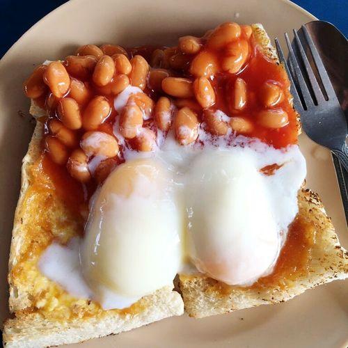 Morning Breakfast Is Served Bread 😍😌😊
