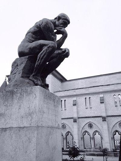 Le Penseur Rodin Musée Rodin, Paris Sculpture Art Behaviour Humanity...  Strength Weakness Introspection Perspective