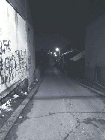Cellar No People Night City
