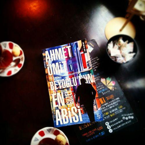 Ahmetümit BeyoğlununEnGüzelAbisi Turkish Tea Cigarette  Book Read Book Cafe And Book Bestfriend