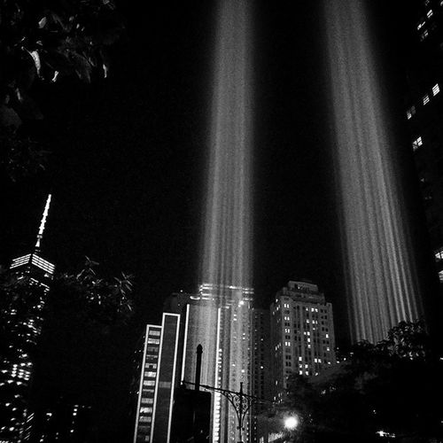 Memoriallights September11th NYC