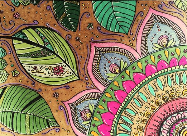 Zen Art Multi Colored