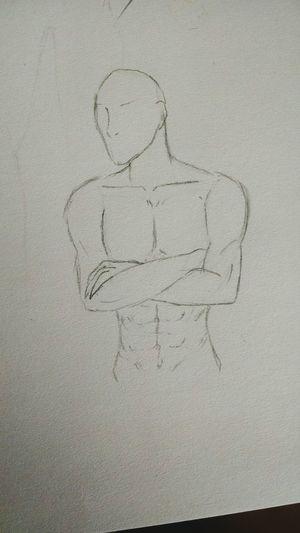 Drawing Sketching Malebody Anime