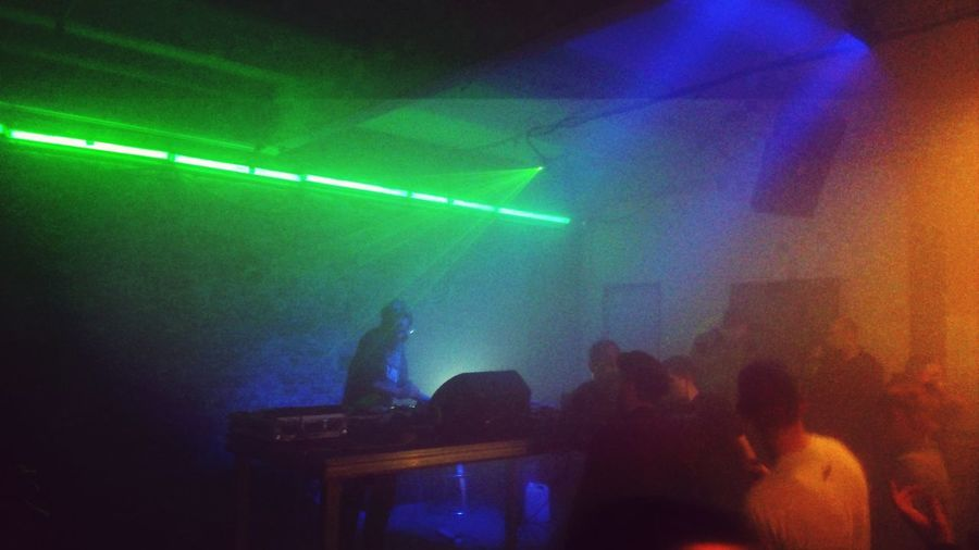 Party Techno Laser Awesome DJ Set
