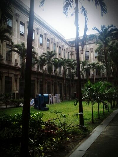 A spot to catch your Breath after hours of Classes . When in an Academe .