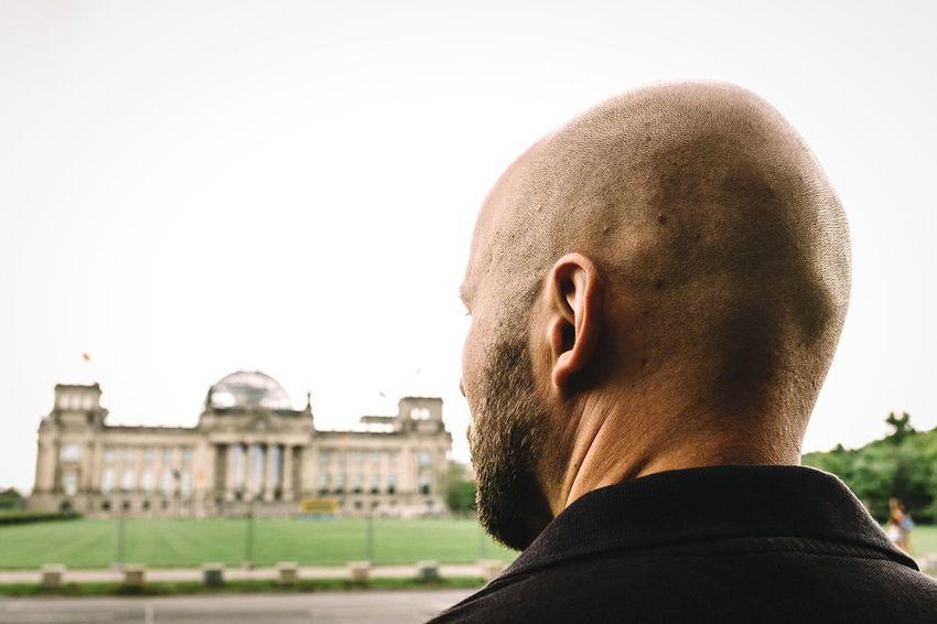 I hear you. Unlikely Heroes Open Edit Back Of The Head Baldhead My Fuckin Berlin EyeEm Best Shots - People + Portrait FujiX100T Looking For Trouble Man Berlin