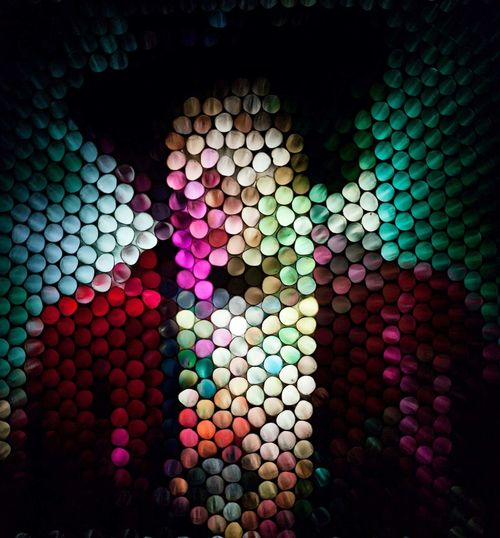 Multi Colored Close-up Circles Circles Of Confusion In Camera Experimental Art Abstract Strawcamera Backgrounds Full Frame Pattern Manipulation Portrait Blurry Blurred Human Face Headshot One Person Purple The Week On EyeEm