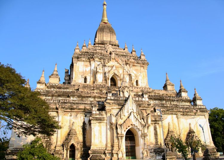 Bagan Temples #2 Religion Pagoda Architecture Sunny Travel Destinations Tourism Business Finance And Industry