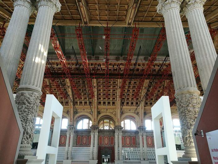 Museo De Arte De Cataluña Barcelona, Spain Architectural Column Place Of Worship Architecture Built Structure Arch Historic Architecture And Art History