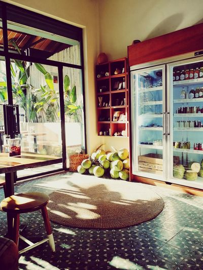 vibe vegan cuisine Afternoon Sun Restaurant Decor South East Asia Door Window Day Indoors  No People