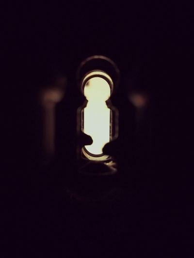 Dark Darkroom Key Lost