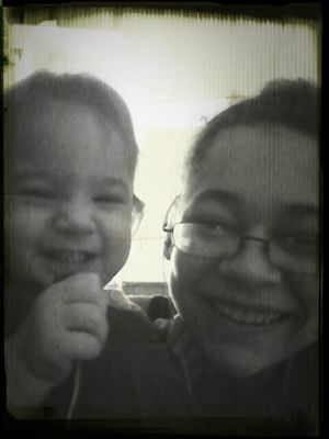 Baby Cousin Nd Me