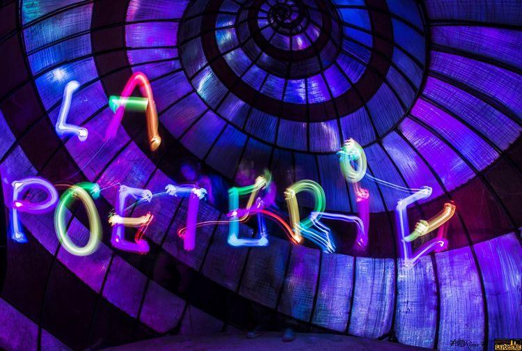 Pour la Fête de l'Art à la Poèterie 🔦 by ONeTrOKE et 📸 by FloRiane F. Lightpainting Art Nightphotography Photography Illuminated Multi Colored Night Pattern No People Decoration Glowing Lighting Equipment Creativity Arts Culture And Entertainment Enjoyment
