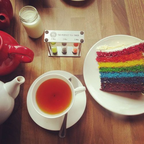 Tea and cake at the local Northernquarter Eatmcr Mcruk Manchester