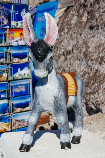 Donkey Gift Greek Islands Leisure Activity Lifestyles Santorini Souvenir Symbol