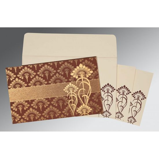 The beauteous designs of Rustic Wedding Invitations, General are sure to offer you a delightful treat. The ultimate selection of brown color is certainly the best fit for the wedding card. The card has been constructed out of fine shimmer paper that assures a great quality and look. https://www.a2zweddingcards.com/card-detail/ARU-8239C A2zWeddingCards Rustic Country Wedding Invitations Rustic Country Wedding Invitations, Rustic Wedding Invitations Rustic Wedding Invites, Vintage Wedding Invitations Vintage Wedding Invites, Wedding