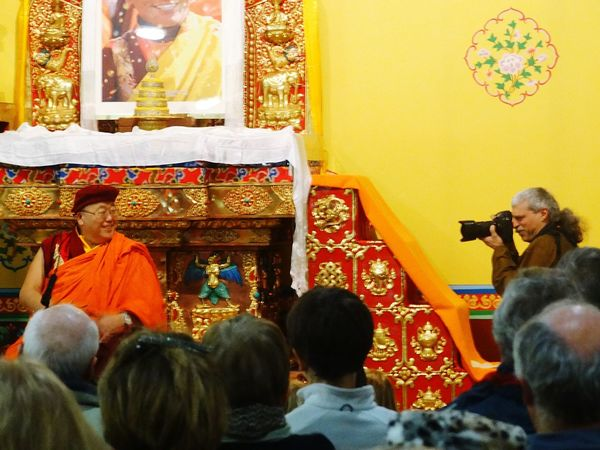 This one is just for fun. It's the moment a tibetan monk smiled for the camera whilest celerbrating the start of the year of the Fire Monkey (fantastic name for a year) at the Drukpa Tibetan Buddhist Center, Plouray, France Buddist Buddhism Drukpa Plouray France Meditation Orange Colour Of Life