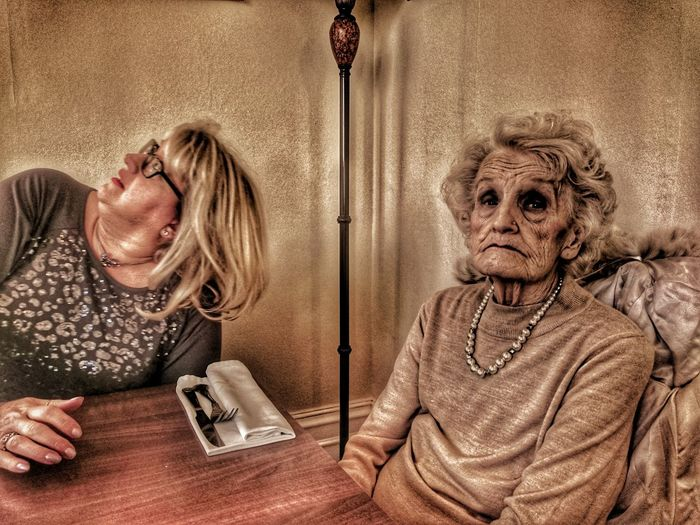 Senior Adult Senior Women Adult Adults Only Indoors  One Person Oh Dear What Where Who What Who Where My Mother MY MOTHER <3 My Mother And Sister 83yrs Cancerawareness Cancer Survivor My Mum ♥  My Mother :) Dinner Time Women People Disinterestedlearning The Portraitist - 2017 EyeEm Awards This Is Aging This Is Family The Still Life Photographer - 2018 EyeEm Awards The Portraitist - 2018 EyeEm Awards