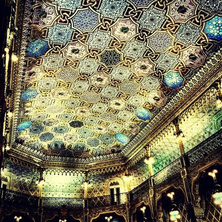 Arab room at Palácio da Bolsa
