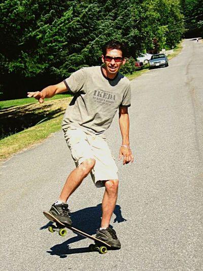 Skateboarding That's Me The Art Of Mankind Summer Memories... Oldschool