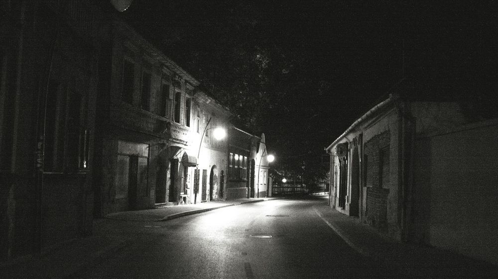 Night No People Outdoors Architecture Walking Around The City  City Night Lights City Nightscapes Architecture Night Walks Sremski Karlovci Serbia